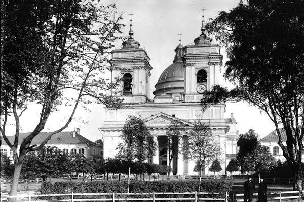 Внешний вид Троицкого собора 1913