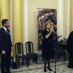 Выступает руководитель пресс-службы Александро-Невской лавры Наталья Родоманова